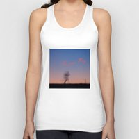 running Tank Tops featuring Running by Tanja Riedel