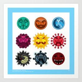 Astrology - Order of Worship Art Print