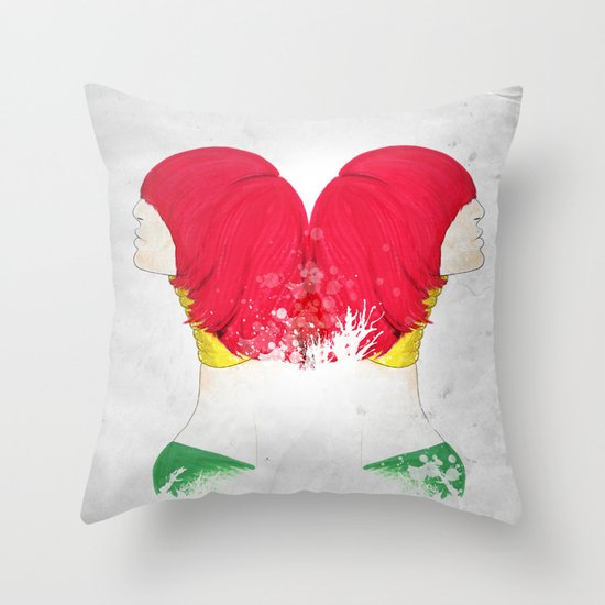 RED'FLECTO Throw Pillow