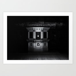 Elgin & Winter Garden Theatre Centre Box Office No 2 Art Print