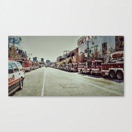 Kansas City Firefighter Pride Canvas Print