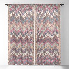 Kagizman Gaziantep Southeast Anatolian Rug Print Sheer Curtain