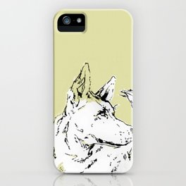 Howl Along iPhone Case
