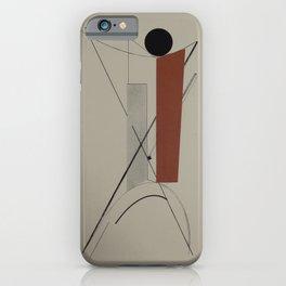El Lissitzky - Kestnermappe Proun, Rob. Levnis and Chapman GmbH Hannover #3 (1923) iPhone Case