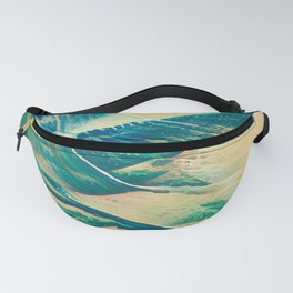 Sandy Waves Fanny Pack