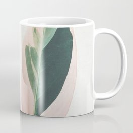 Pink Leaves I Coffee Mug