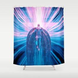 Uriel Ascendant Shower Curtain
