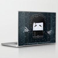 edward scissorhands Laptop & iPad Skins featuring Edward Scissorhands by Francesco Dibattista