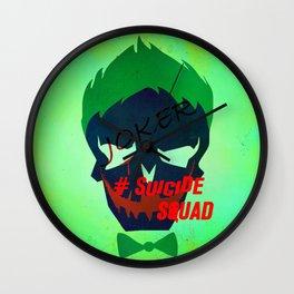 "JOKER ""Suicide Squad"" Wall Clock"
