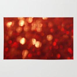 Sparkling Lights red Rug