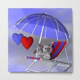 love is in the air -2- Metal Print
