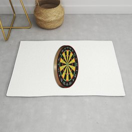 Classic Typical Darts Board Rug