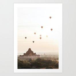 Bagan V Art Print