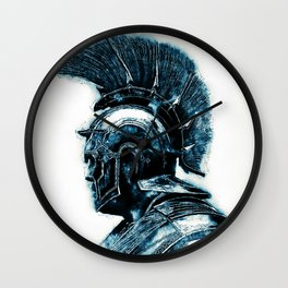Portrait of a Roman Legionary Wall Clock