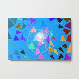 Pythagoras Swirl  Metal Print