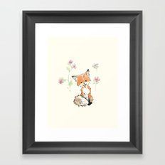 to give you more happy  Framed Art Print