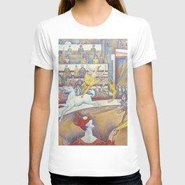 Georges Seurat artwork - The Circus T-shirt