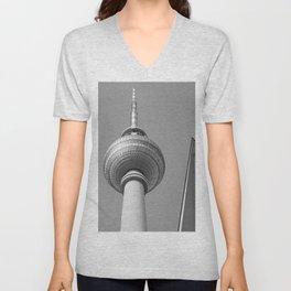 Berliner Fernsehturm TV Tower Unisex V-Neck