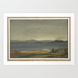 Loch Nell, 1930-1935, by Sir David Cameron 2 Art Print