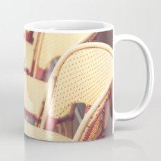 Paris Cafe, Classic Parisian coffee chairs Mug