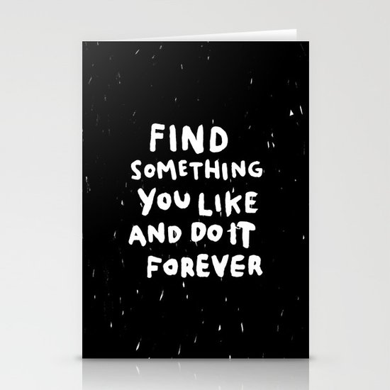 Find Something you like Stationery Cards