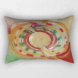 Assorted Hard Candies Abstract Rectangular Pillow