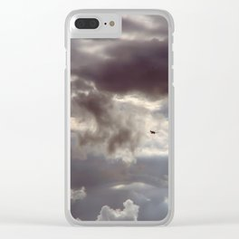 Twisted Cloud Clear iPhone Case
