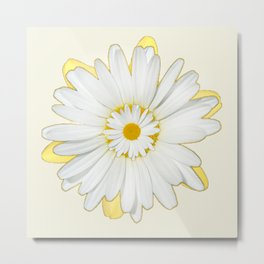 Fantasy Flower Daisy 999 Metal Print