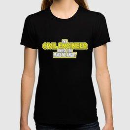 Civil Engineer Gift Construction Builder Gift T-shirt