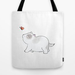 Wait for me, Butterfly. Tote Bag