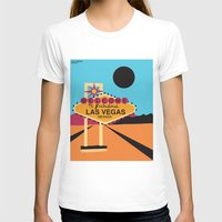 las vegas T-shirts featuring Welcome to Las Vegas by Geryes