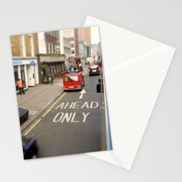 Ahead only Stationery Cards