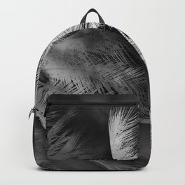 Palms black and white Backpack