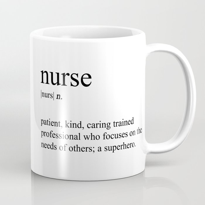 Nurse Definition Coffee Mug