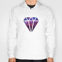 diamond Hoodies featuring Diamond by eARTh