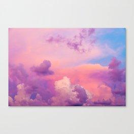 Pink & Purple Clouds Canvas Print