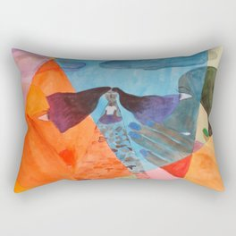 Rumors Rectangular Pillow