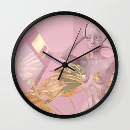 Pastel Humanoid Diskette Wall Clock