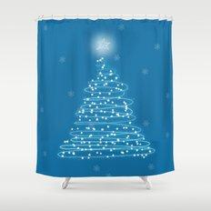 Holiday Tree Shower Curtain