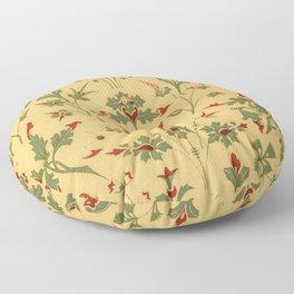 Floral Pattern Decor Ornaments Floor Pillow