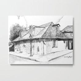 John Lafitte's Blacksmith Shop Metal Print