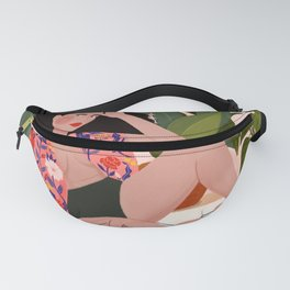 Sunday with pizza Fanny Pack