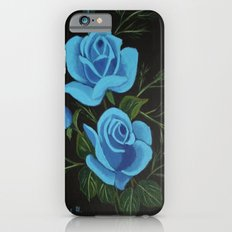 Blue Roses Slim Case iPhone 6s