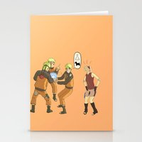 naruto Stationery Cards featuring Naruto Science by Solidus