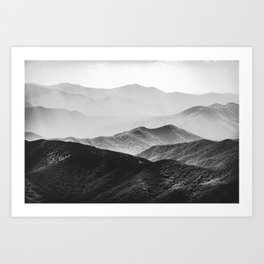 Smoky Mountain Art Print