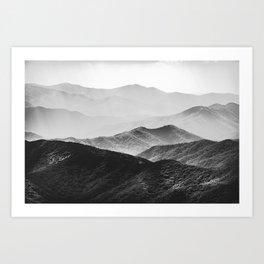 Smoky Mountain Art Print