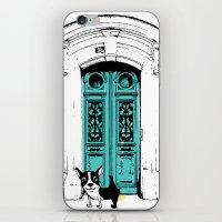 shameless iPhone & iPod Skins featuring Shameless Dog by Ninostchka Coronado