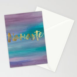 Namaste, Ocean Mermaid 1 Stationery Cards