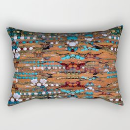 Abstract Indian Boho Rectangular Pillow