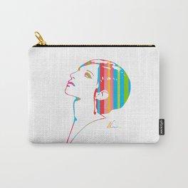 Barbra Streisand   Pop Art Carry-All Pouch